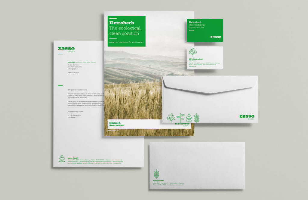 Corporate Design Zasso
