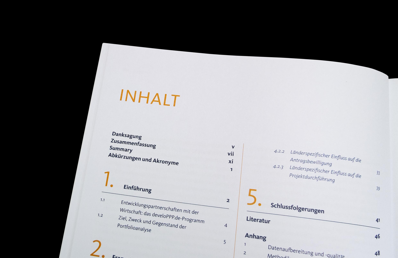 Deval Magazin Inhaltsverzeichnis