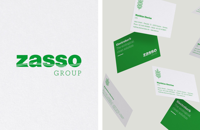 Logoentwicklung-Zasso aus Aachen