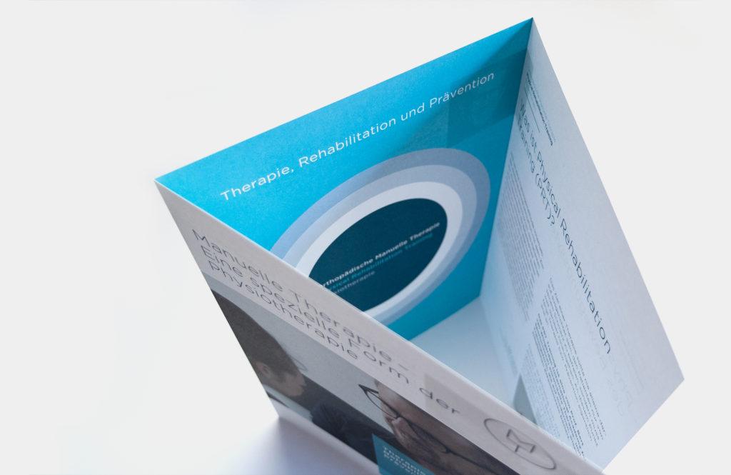 Corporate Design Gestaltung einer Broschuere