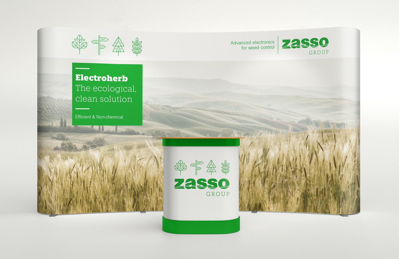 Zasso-Konzept-Messestand