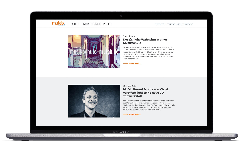 mufab-Webdesign und Entwicklung