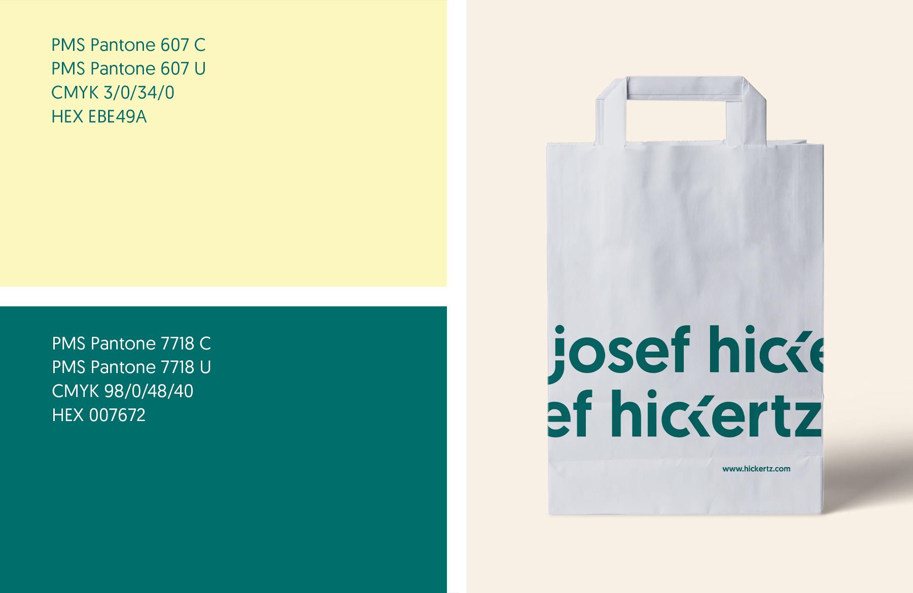Hickertz-Farbkonzept