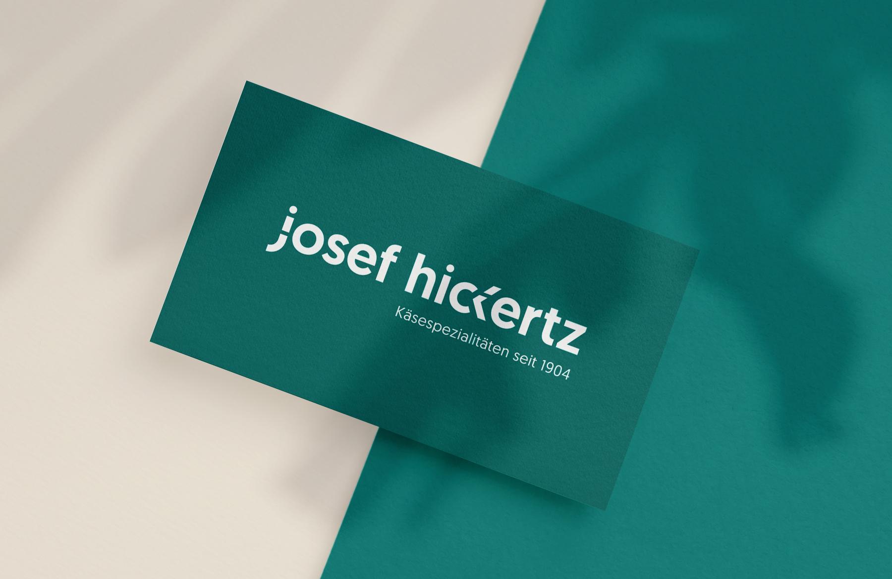 Hickertz-Visitenkarten
