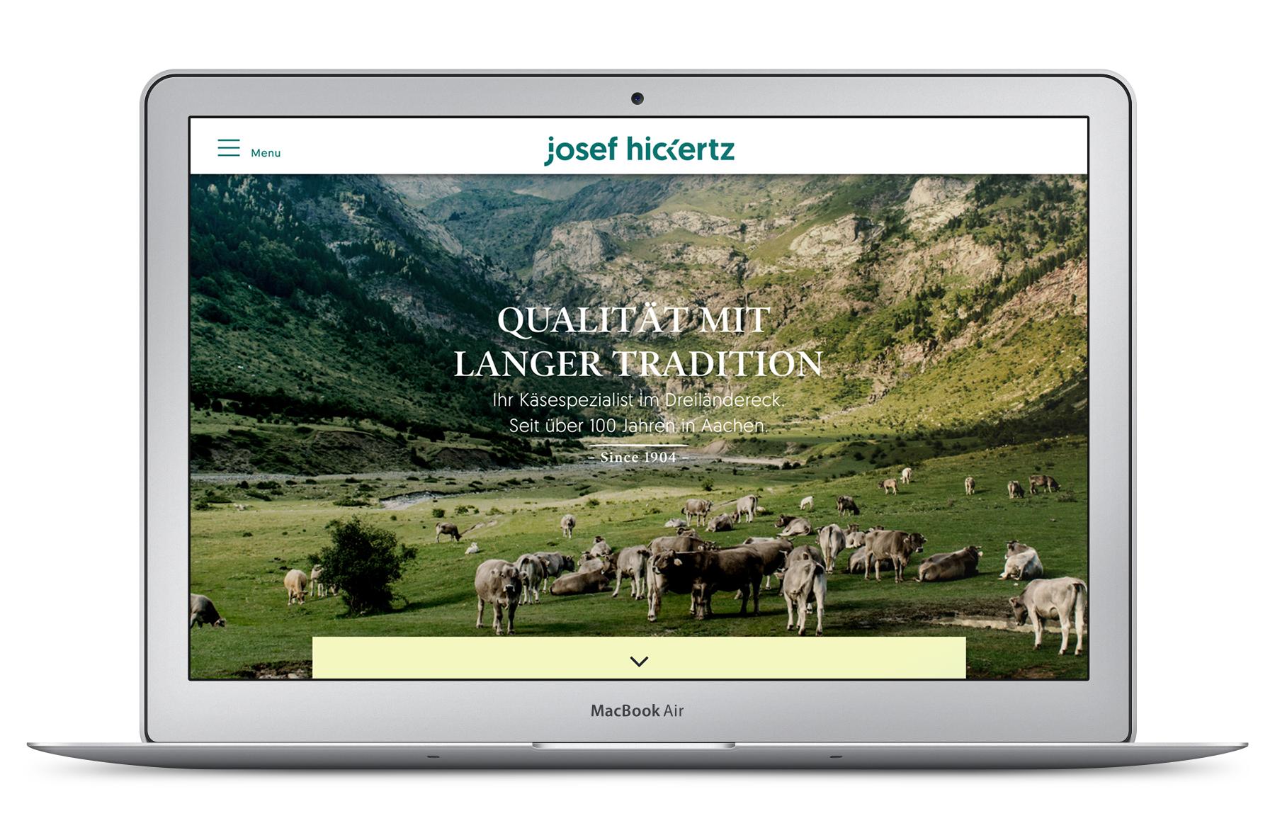 Hickertz-Webdesign und Webentwicklung